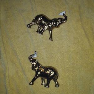 Gold Elephant decor (heavy)